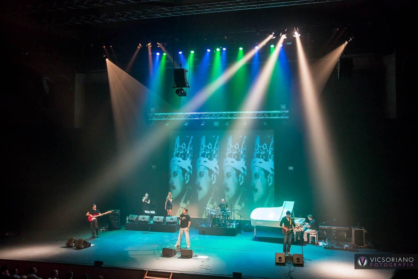 Unrisen Queen en directo en el Teatro Circo