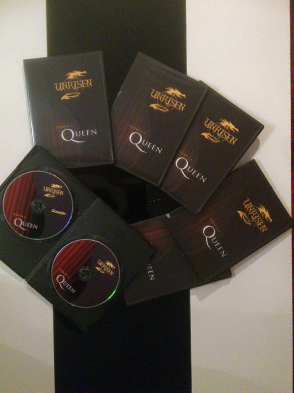 DVD Unrisen Queen