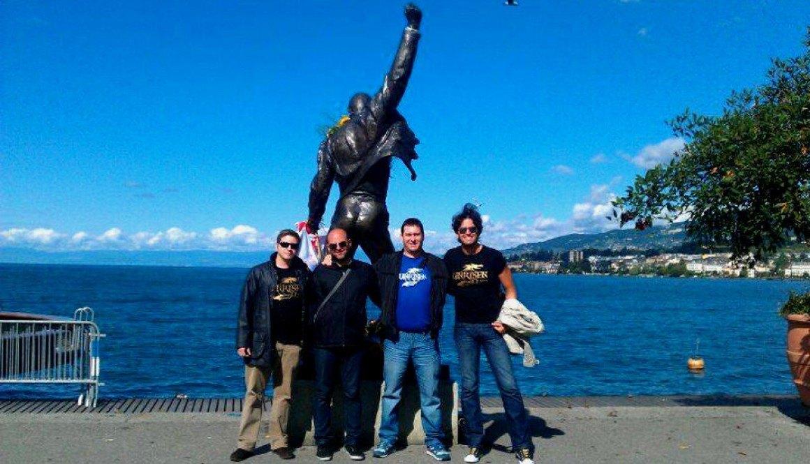 Galería de Unrisen Queen. Unrisen Queen Estatua de Freddie Mercury en Suiza