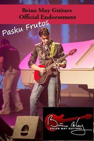 Pasku Frutos Brian May Guitars Official Endorsement