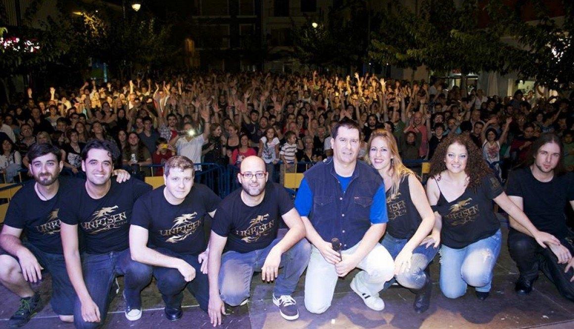 Unrisen Queen Concierto En La Alberca