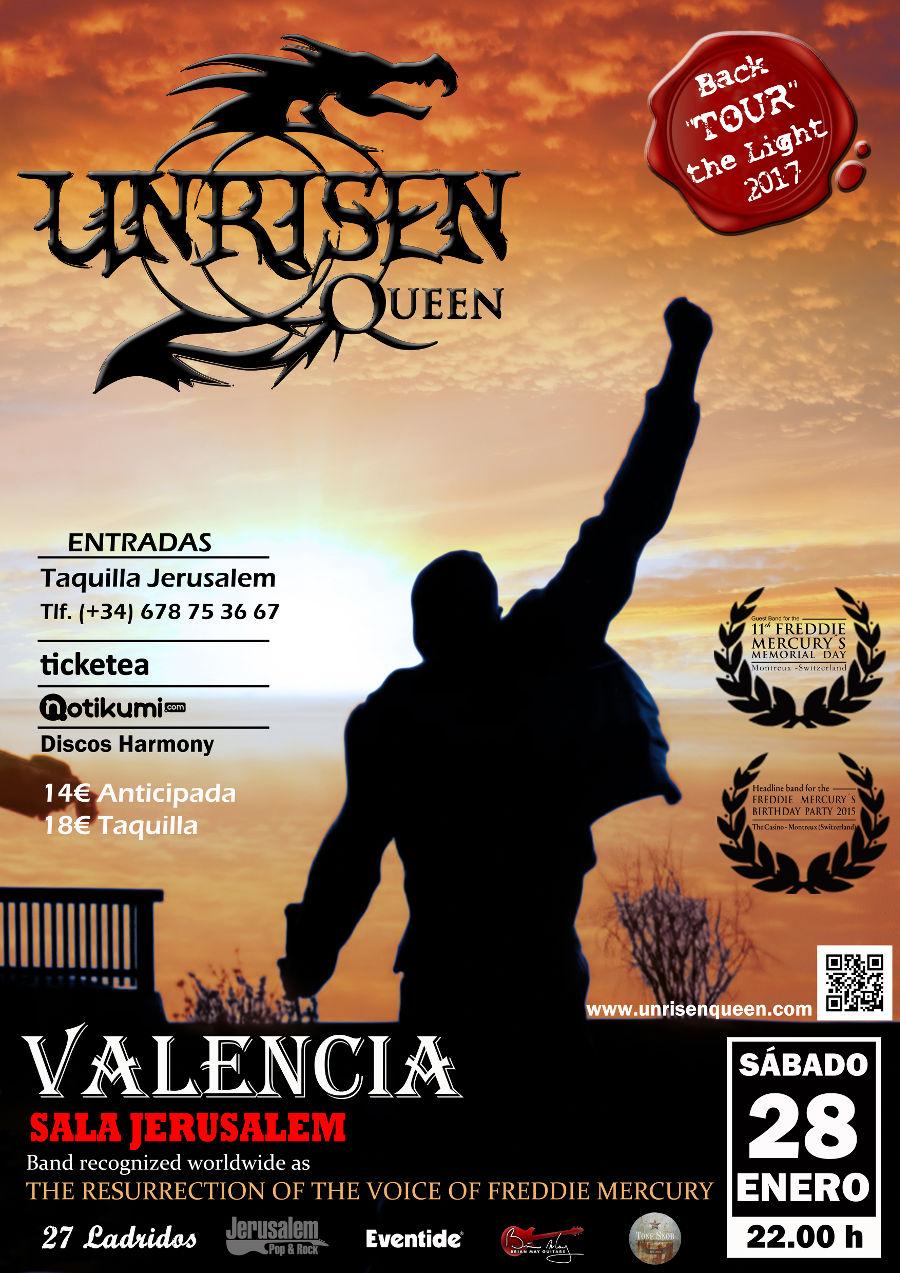 Unrisen Queen en Valencia