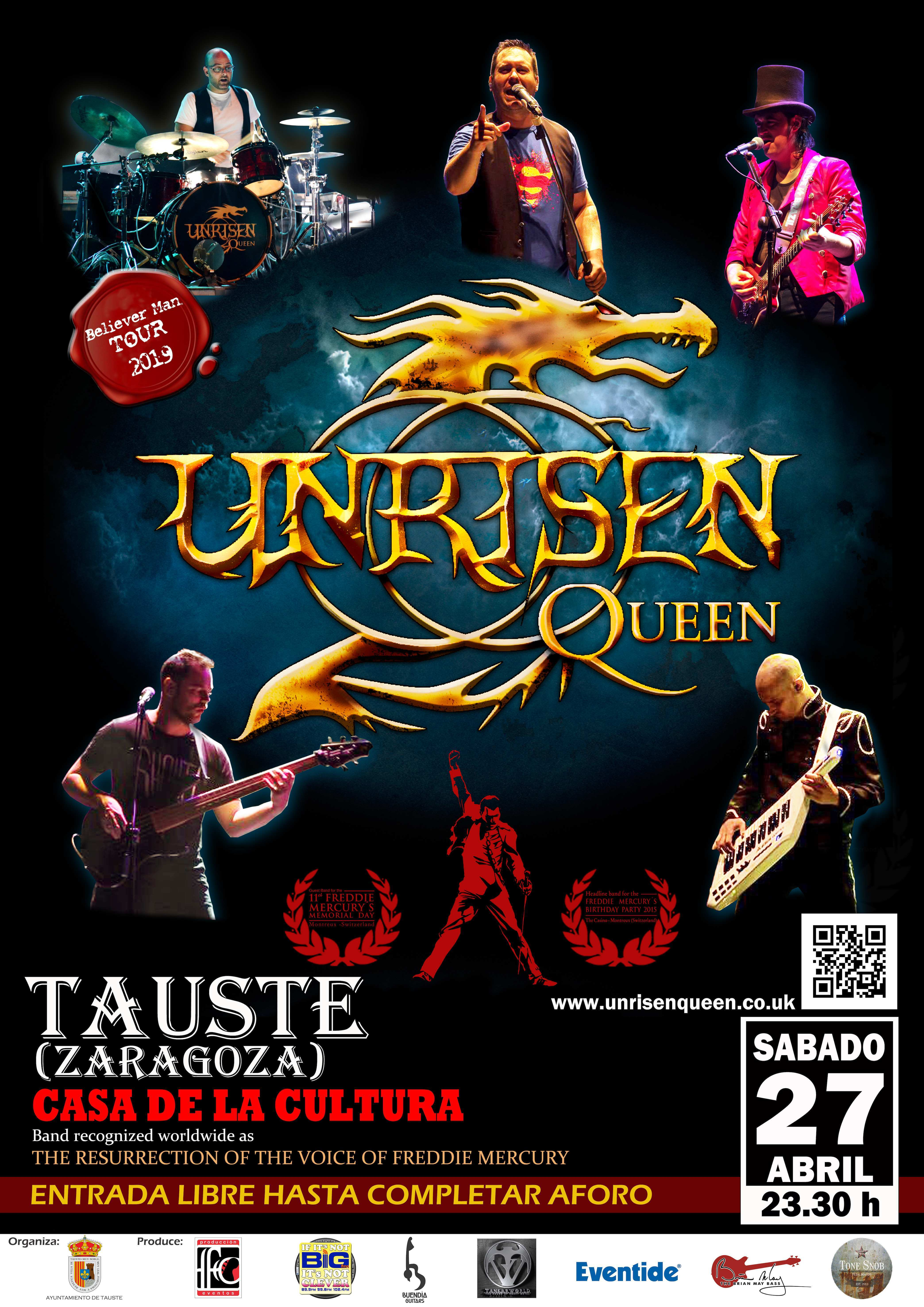 UNRISEN QUEEN in Tauste (Zaragoza)