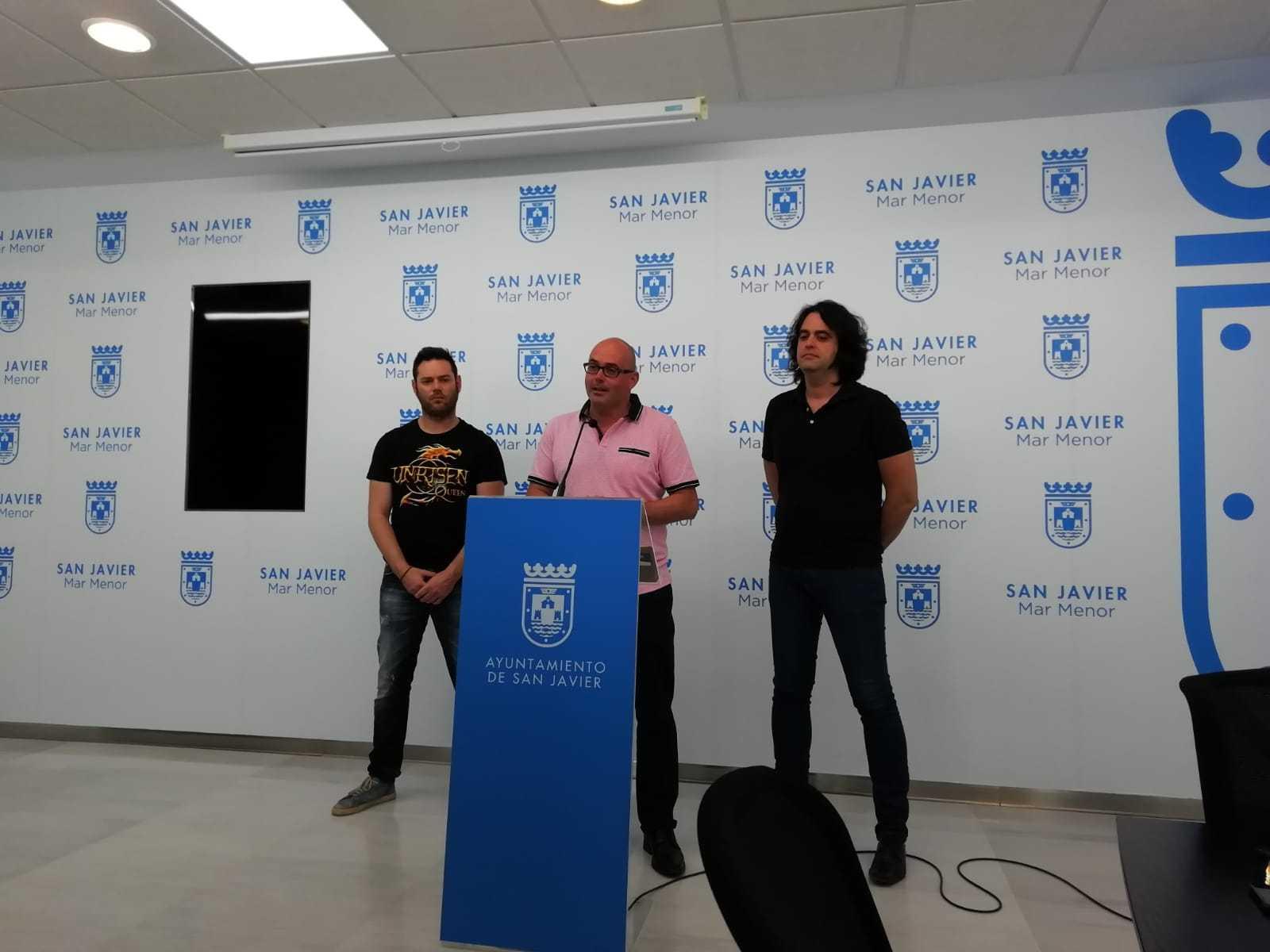 Press Conference in San Javier